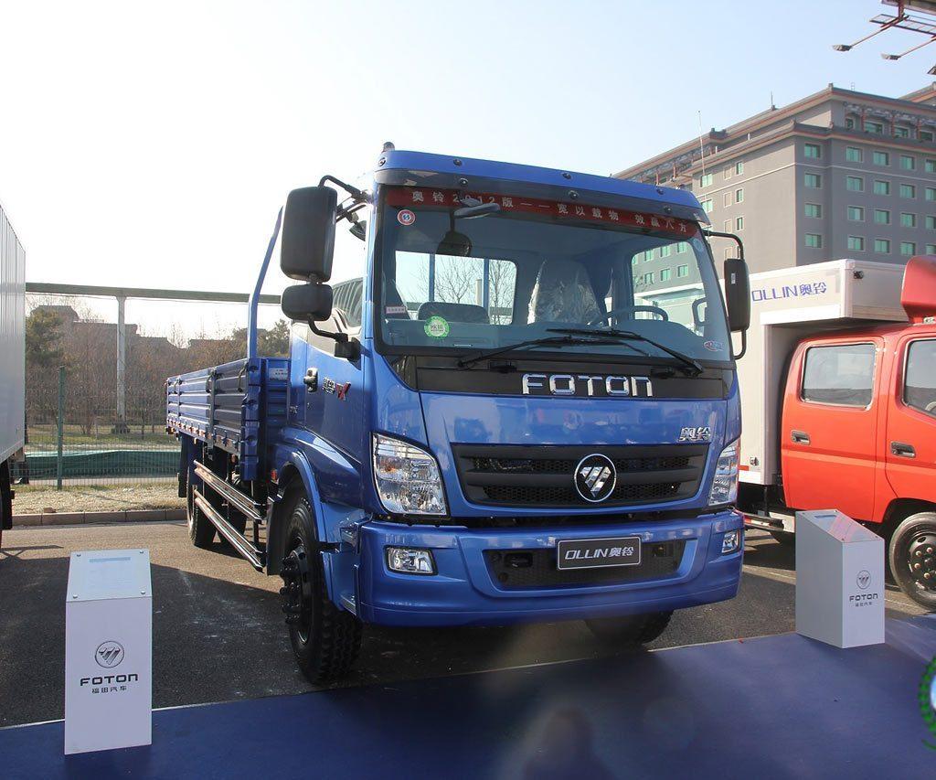 Бортовой грузовик FKB-1169 КОБАЛЬТ на шасси  FOTONDAIMLER