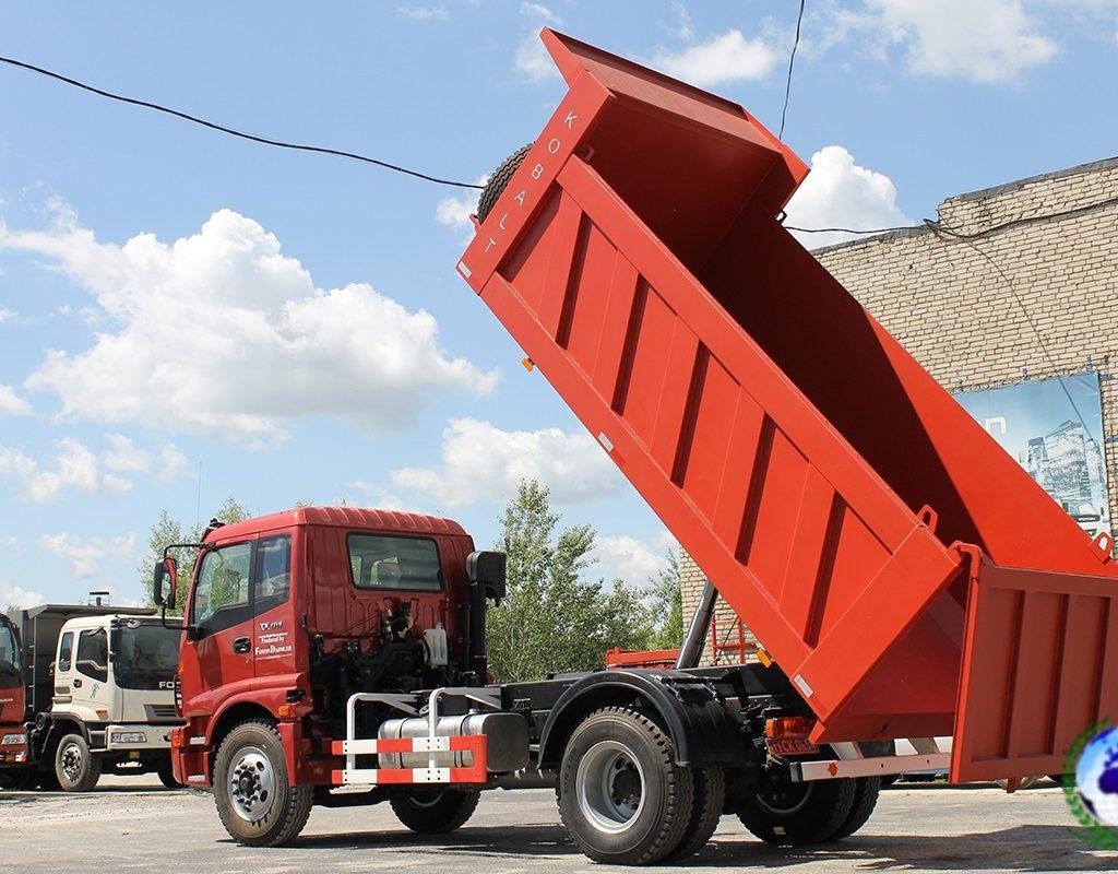 Самосвал коммунальный АС-3163.01 КОБАЛЬТ на шасси FOTONDAIMLER