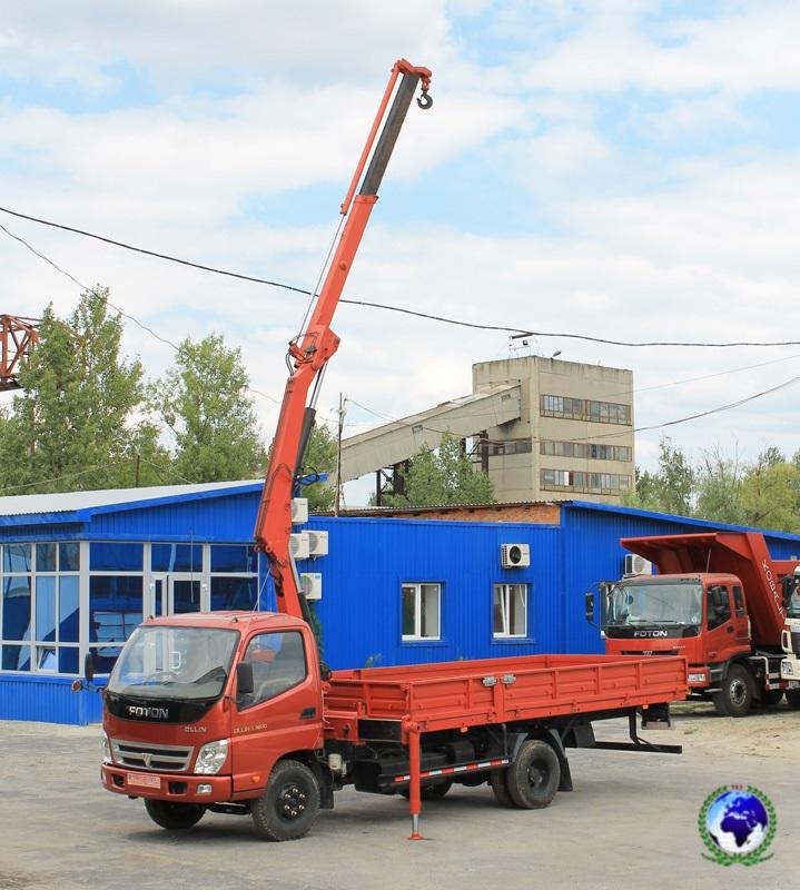 Автоманипулятор FKBH-2063Z КОБАЛЬТ на шасси FOTONDAIMLER