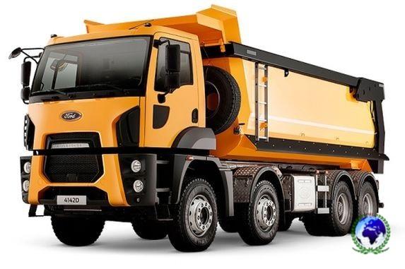 Ford Trucks 4142D (Hardox, 8x4, прямоуг.сечение)