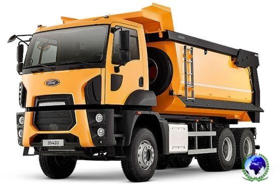Ford Trucks 3542D (Hardox, 6x4, овал.сечение)