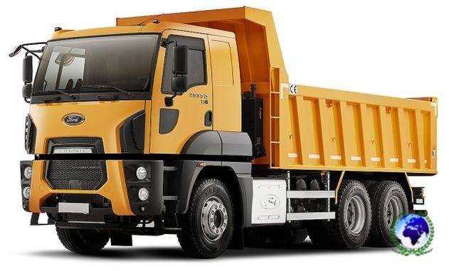 Ford Trucks 2533D (строительные,Hardox)