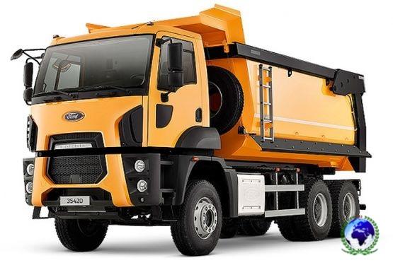 Ford Trucks 3542D (ST-52, 6x4, прямоуг.сечение, подогрев)