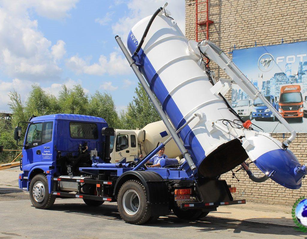 Илососная машина KVV-70 КОБАЛЬТ на шасси FOTONDAIMLER