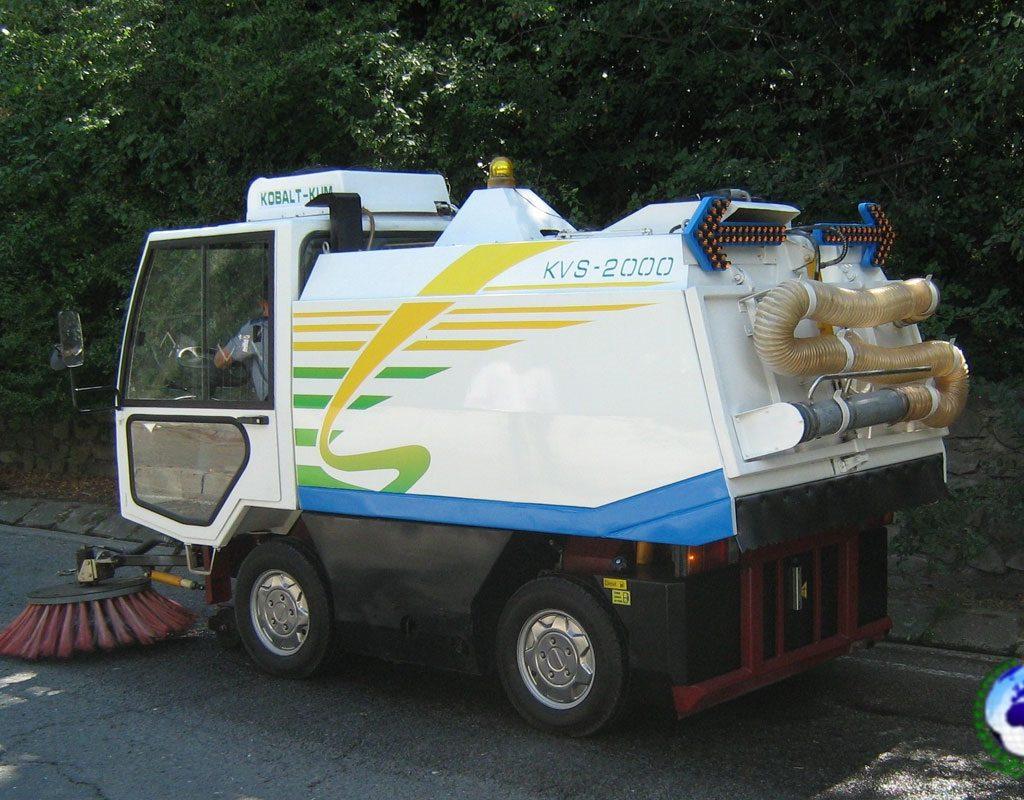 Подметально-вакуумная машина KVS-2000 КОБАЛЬТ