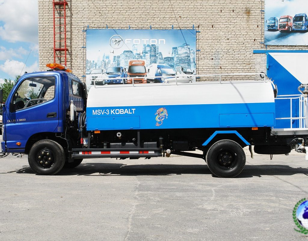 Поливомоечная машина MSV-3 КОБАЛЬТ на шасси FOTONDAIMLER