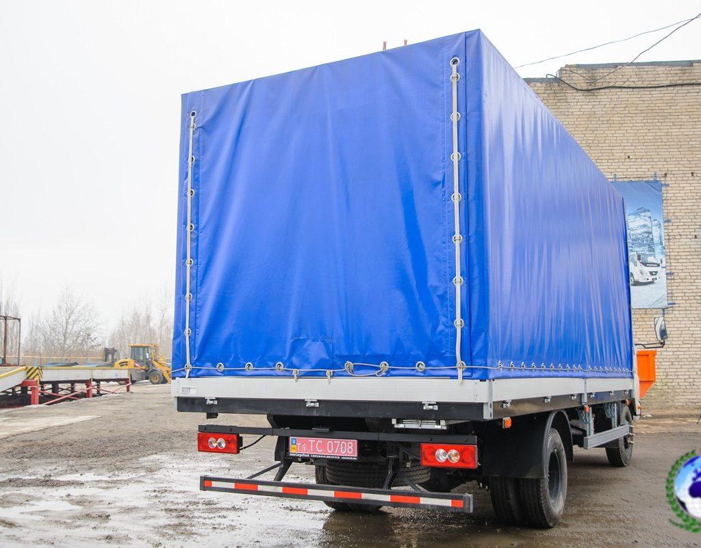Бортовой грузовик FKB-1069 КОБАЛЬТ на шасси  FOTONDAIMLER