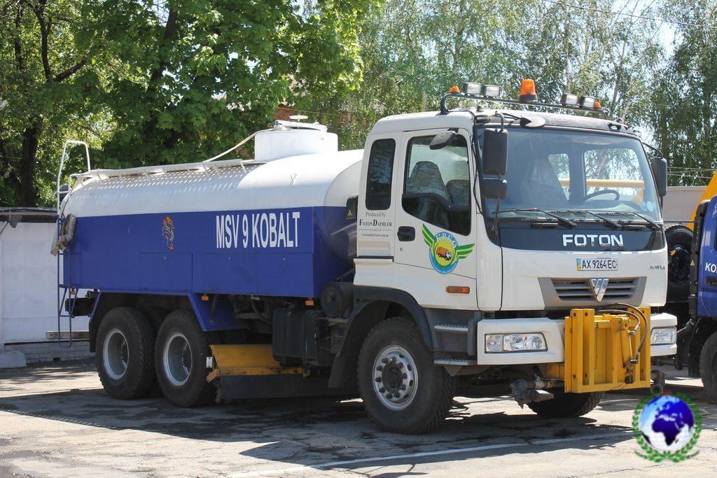 Автомобиль специального назначения (поливомоечная машина комбинированная) MSV-9/04-M KOBALT на шасси FOTON DAIMLER
